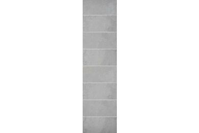 Fibo-Trespo Wandpaneel Crescendo 1533 Gris Grande 2400x620x11mm