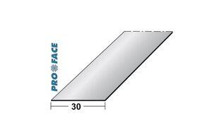 platstaaf aluminium 3000mm