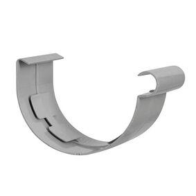 kraalgoot verbindingsstuk klem 125mm grijs