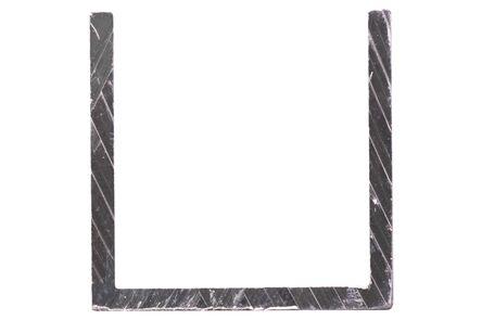 aluminium u-profiel 25x25x2000