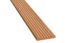 Hardhout Vlonderplank 1 zijde Gegroefd en 1 zijde Ribbel FSC 25x145x1850mm