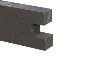 wallblock new antraciet 12x10x30cm