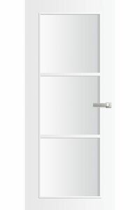 binnendeur skantrae nano topcoat skl928-bg incl. blank glas opdek linksdraaiend fsc mix 70% 830x2115