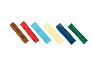 ZWALUW Beglazingsblokje Stelblokje Blauw 26x2x100mm ( 1000 Stuks )