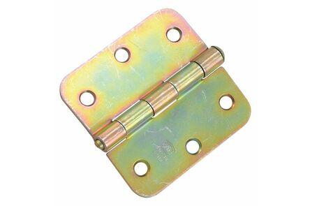 sx scharnier losse pen rvs ronde hoeken 89x89mm skg2 (set van 3 stuks)