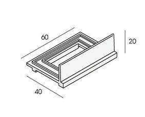 unipanel ventilatieclip 2468 tbv uitlijnprofiel (set van 15 stuks)