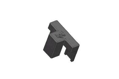 REBA Clip T.B.V. ventilatie HPL + Daktrim Zwart 6/8mm