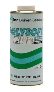 polysoft plamuur set wit 1,5kg