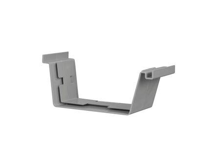 bakgoot verbindingsstuk 180mm grijs
