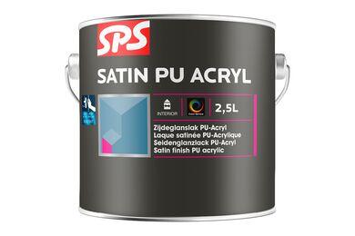 SPS Acryl Lakverf Zijdeglans 9010 Gebroken Wit 2,5Ltr
