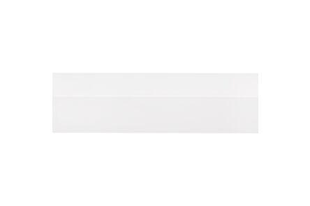 kunststof hoekprof zelfkl wit 20x20x2600