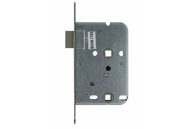 BUVA Uni-Inlock Vrij- En Bezetslot Inclusief Sluitplaat En Magnetische Sluitkom RVS Zilverkleurig L1-R4 50mm 8/63