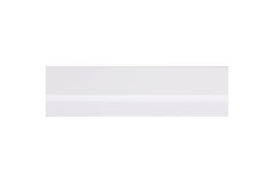 Grenen Koplat Recht Geschaafd Gelakt Wit FSC 12x45x2700mm