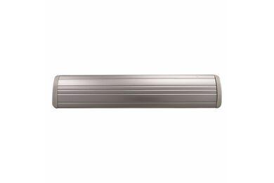 IMPRESSO Tochtklep Met Tuimelklep Aluminium 70x346mm