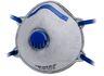 cofra stofmasker airfree +koolstoffilter ffp2vc blauw (set van 12 stuks)