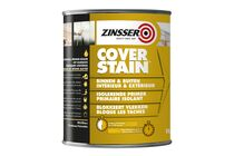 zinsser cover stain grondverf mat wit 1ltr