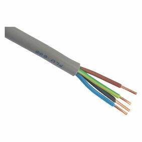 kabel xmvk 4x2,5mm² grijs 50m
