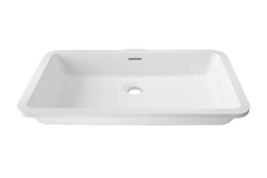 Krion Solid Surface Spoelbak D802 E Snow White 480x280x126mm