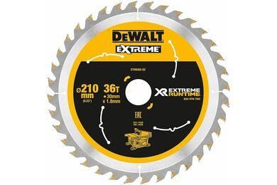 DEWALT DT99566-QZ Cirkelzaagblad Xtreme Runtime 36-tands 210x30mm