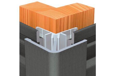 keralit hoekprofiel uitwendig 2812 pure earthbrown 4000mm