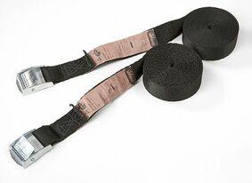 sjorband gesp eindeloos 25mm zwart 2,5m (set van 2 stuks)