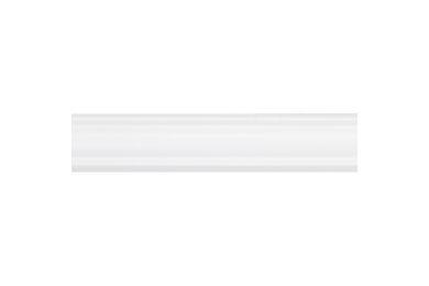 Grenen Plafondlijst Rond Geschaafd Gelakt Wit FSC 16x16x2700mm