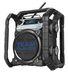 perfectpro bouwradio teamplayer dab+ / bluetooth oplaadbaar zwart