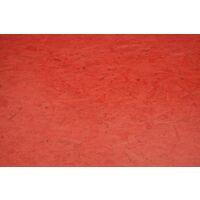 OSB4 Color Red U3/U3 18mm 250x125cm 70% PEFC
