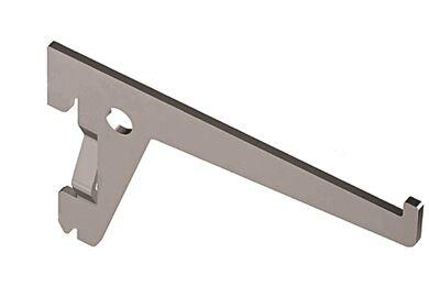 Plankdrager Enkel 2-haaks Staal Wit 300mm