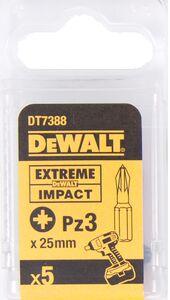dewalt impact 25mm pz3 dt7388-qz (set van 5 stuks)