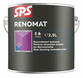sps renomat renovatieverf wit 2,5ltr