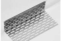 eternit aluminium afsluitprofiel 2zij geperforeerd 30x50x2500