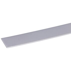 kunststof afdekprof zelfkl rvs 2x30x2600