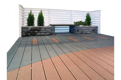 UPM ProFi Deck Vlonderplank Stone Grey 28x150x4000mm