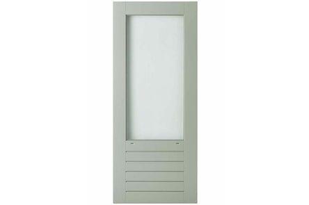 weekamp balkondeur merbau of brede stijl wk043 bw349 wit +isoglaslatten 880x2015