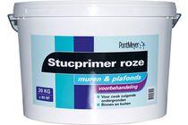 pm stucprimer binnen/buiten roze emmer 20kg