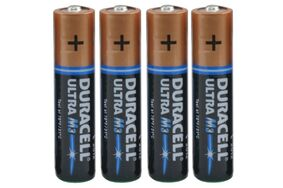 duracell ultra m3 aaa potlood mx2400 (set van 4 stuks)