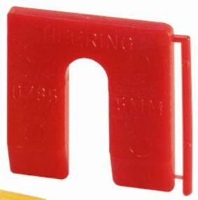 uitvulplaatjes 5mm rood dispenser a 80st