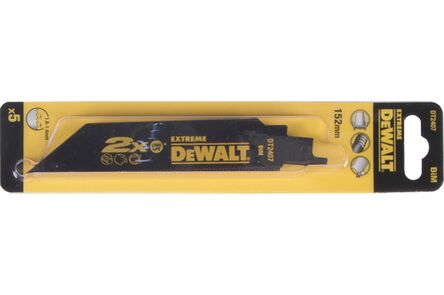 dewalt reciprozaagblad dt2407-qz metaal 152mm