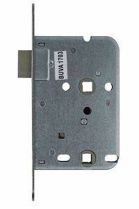 buva magneet wc-slot voorplaat rvs incl sluitplaat en magneetkom