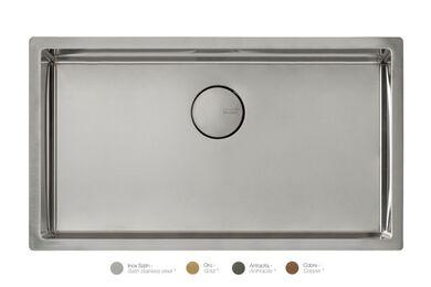 Krion Solid Surface Spoelbak SC808 E RVS Satin 740x400x212mm