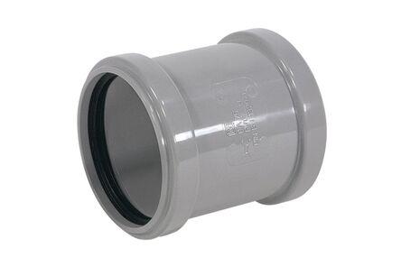 PVC overschuifmof manchet 75mm