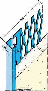 stucstopprofiel 1231 verzinkt staal 2600mm