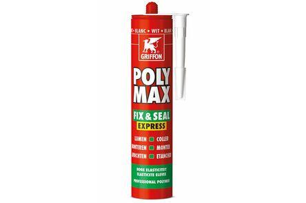 bison/griffon polymax lijmkit express wit 435gr